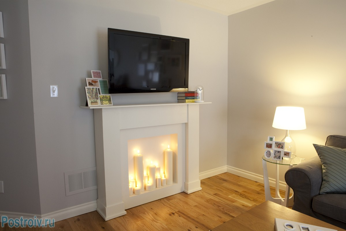 Diy-Faux-Fireplace-Heater-Designs
