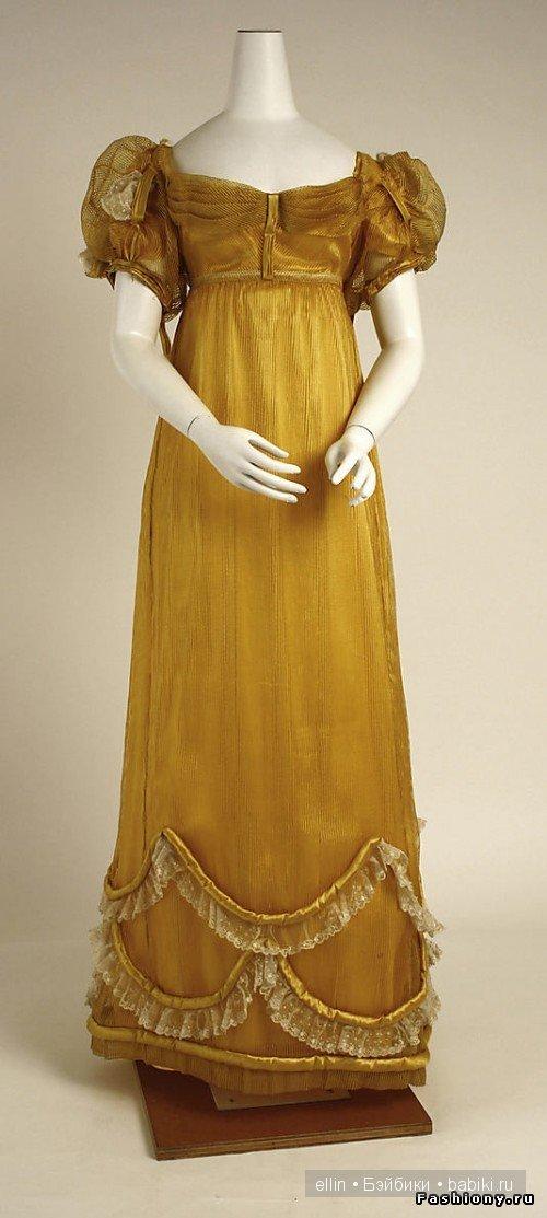 Мода 18 - Европейская мода середины 18 — начала 19 века ...