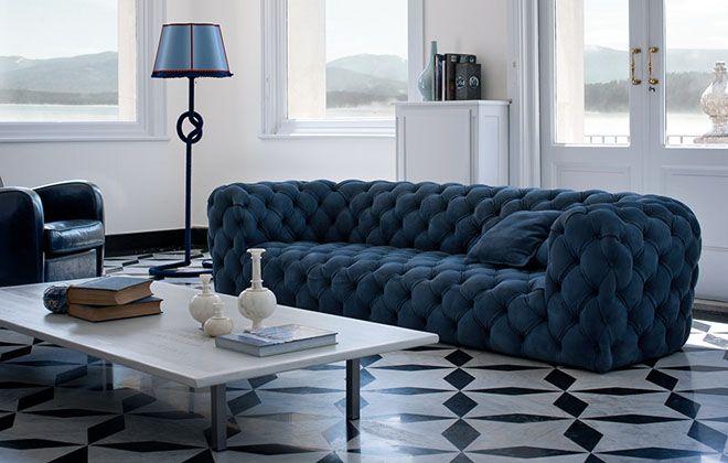 Виды размещения дивана в помещении