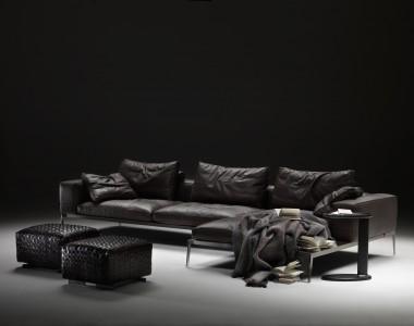 Модульный диван Flexform LifeSteel