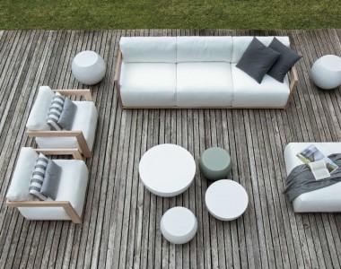 Комплект уличной мебели Meridiani Cloud