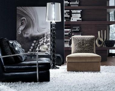 Кресло Frigerio Aretha органично вписывается в соверменный дизайн
