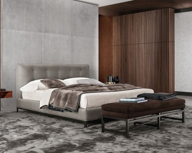 Кровать Minotti Andersen Quilt