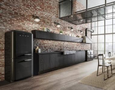Кухня Berloni B50 Rovere Nero