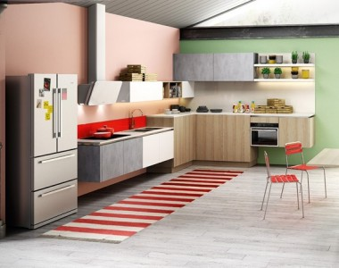 Кухня Berloni B50 Rovere Natural
