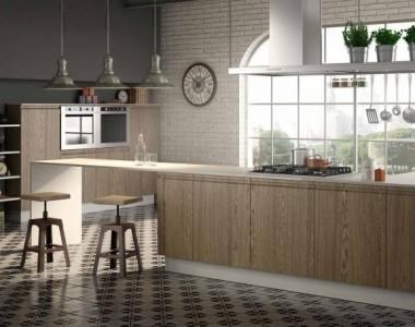 Кухня Berloni Canova Rovere Miele