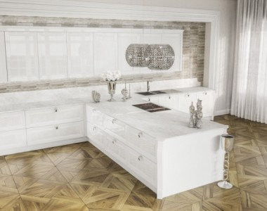Кухня Berloni Olympia Bianco Calce