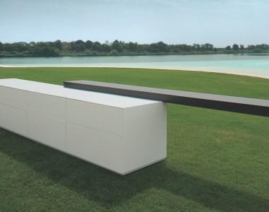 Кухонный гарнитур MK Cucine 012 Corian Rovere antracite