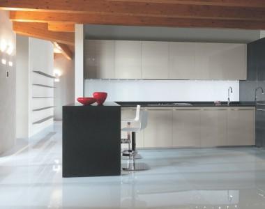 Кухонный гарнитур MK Cucine 012 Laccato Lucido