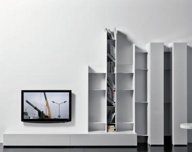 Система для ТВ Pianca People Laccato Bianco