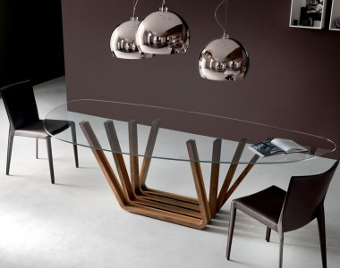 Овальный стол Cattelan Italia Domino