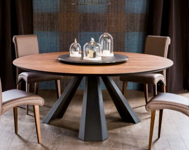 Стол Cattelan Italia Eliot Wood Round