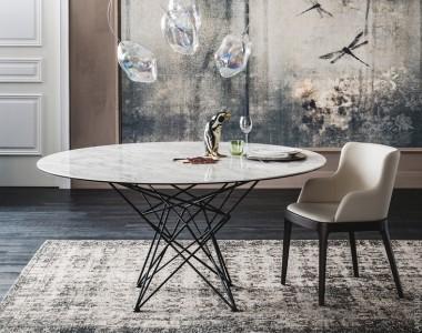 Круглый стол Cattelan Italia Gordon Keramik