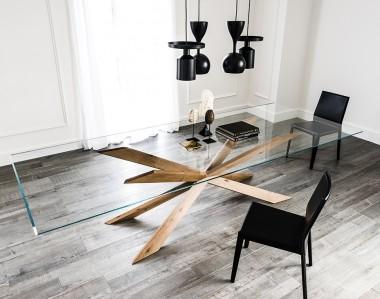 Стол Cattelan Italia Spyder Wood