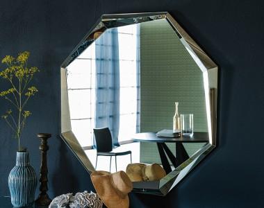 Круглое зеркало Cattelan Italia Emerald